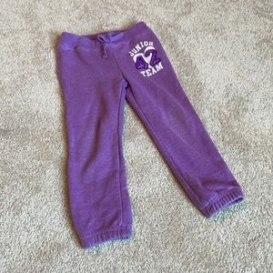 Purple Sweatpants 3T